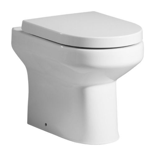 Harmony Back To Wall Pan & Soft Close Seat